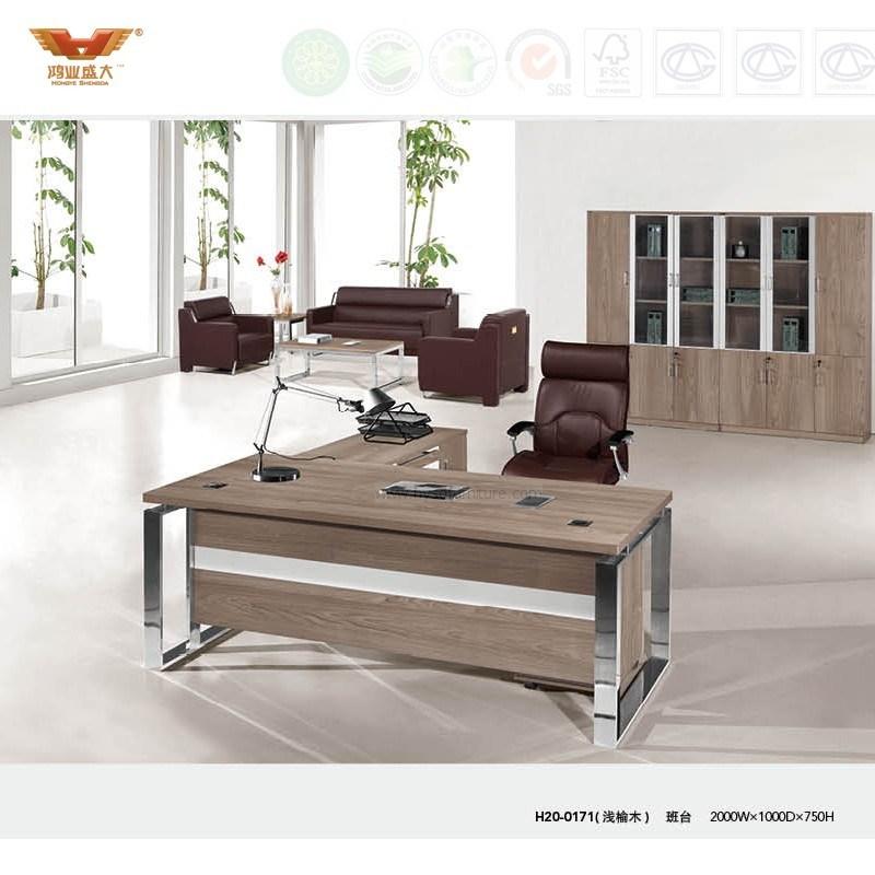 Modern Office Furniture L Shape Executive Desk (H20-01)