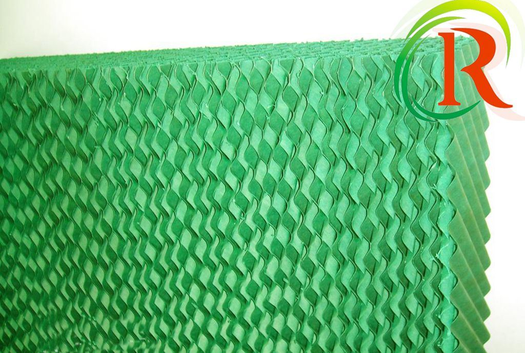 Evaporative Cooling Pad with SGS Certification for Greenhouse
