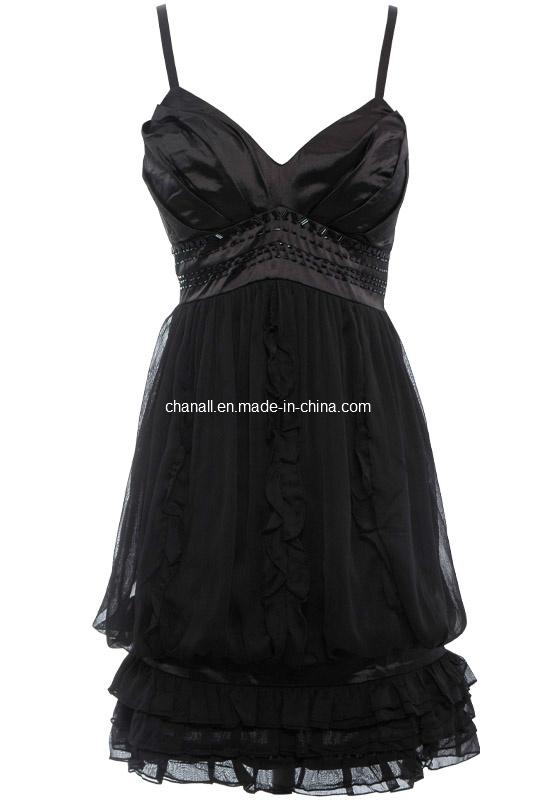 China Women Fashion Spaghetti Strap Cocktail Dress (CHNL-DR059) Photos ...