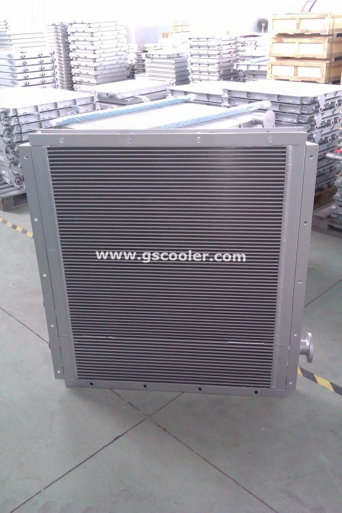 Oil/Compressed Air Combination Cooling for Screw Compressor (AOC13)