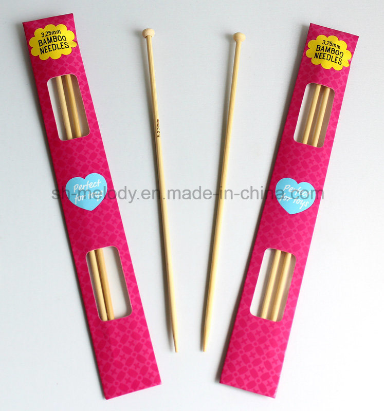 3.25mm Single-Head Bamboo Needles for knitting & DIY