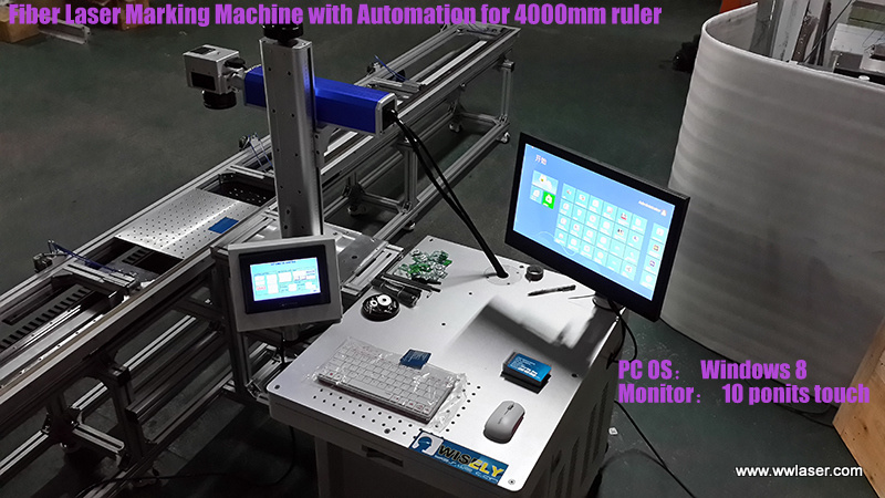 Germany Portable Fiber Laser Engraving and Marking Machine (MY-M20F-III)