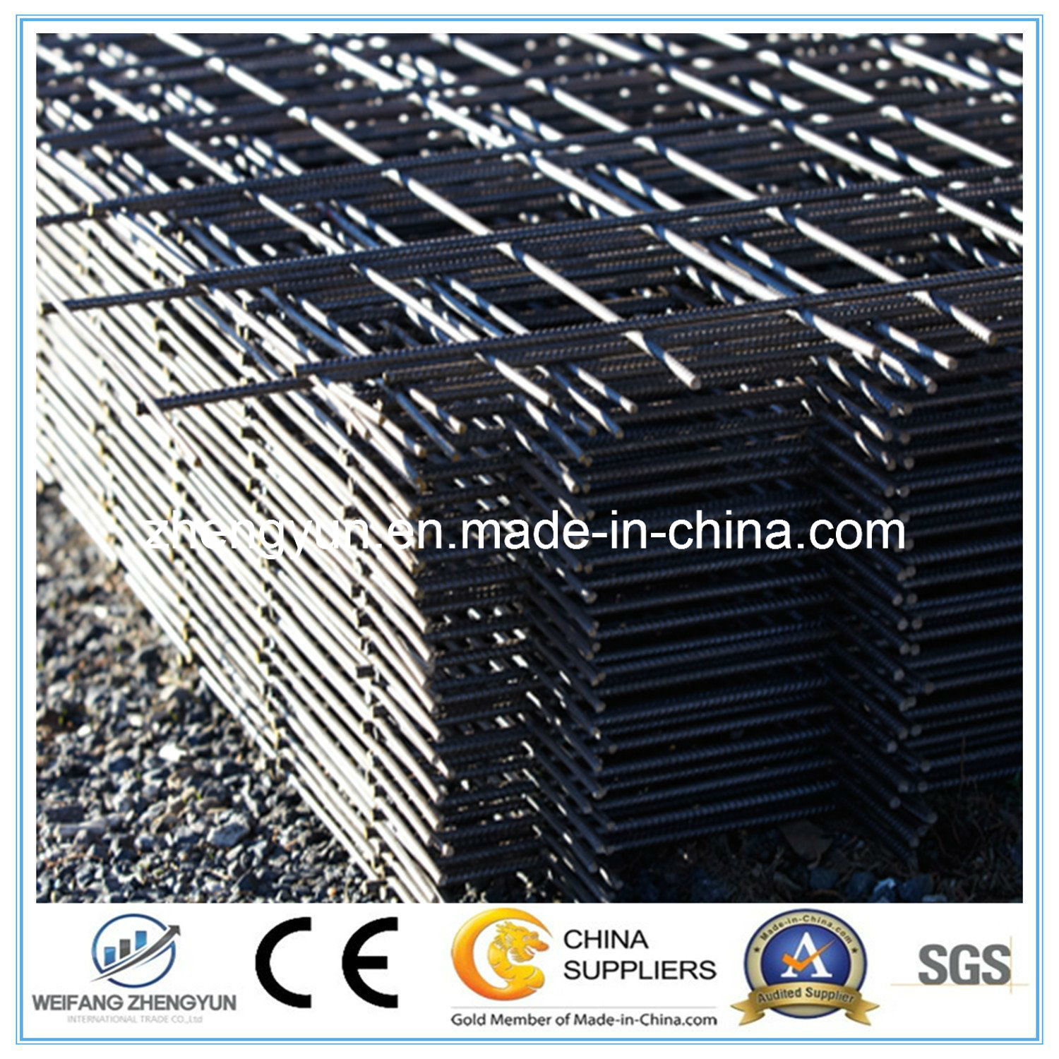 Concrete Construction Reinforcement Steel Welded Wire Mesh