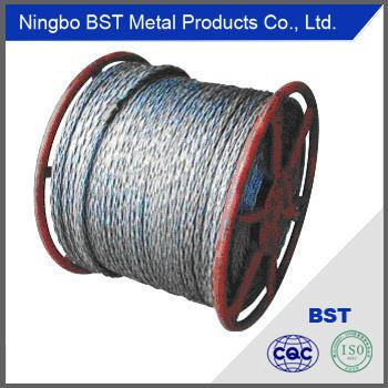 Galvanized Steel Wire Rope (1.2-40mm)
