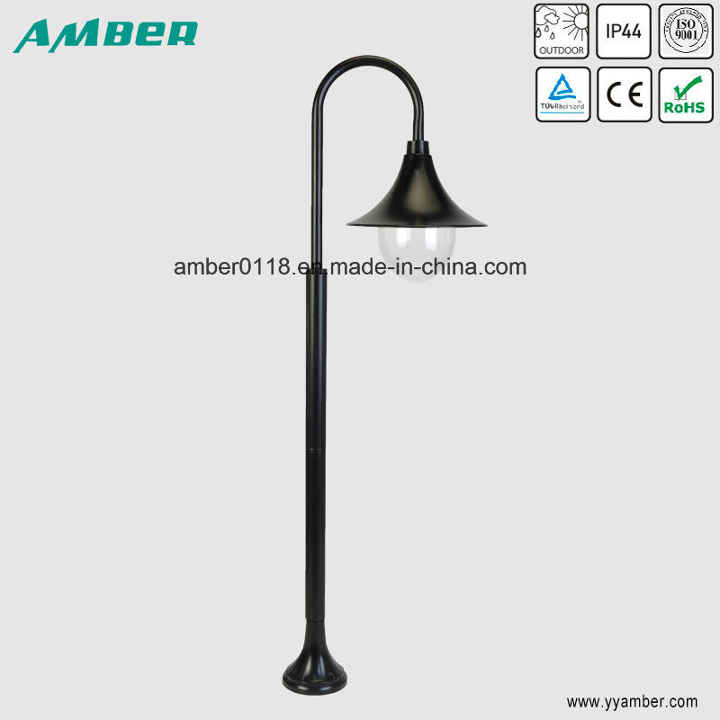 Horn-Shape Garden Light with 1m Pole