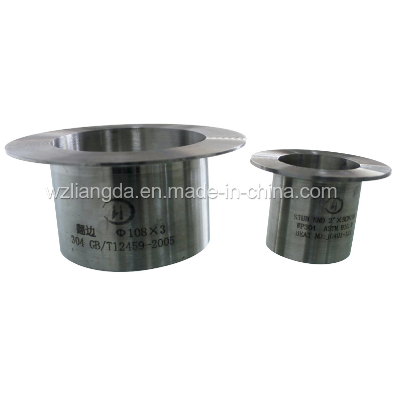 China stainless steel stub ends