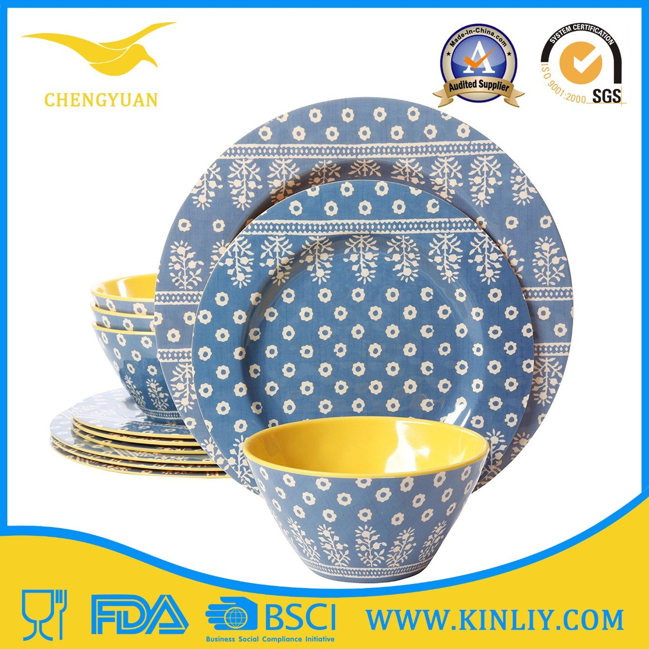 Cheap European Africa China Us Melamine Plastic Restaurant Safe Round Square Modern Home Food Set Dish Dishware Dinner Plate Cup Bowl Tray Dinnerware Tableware