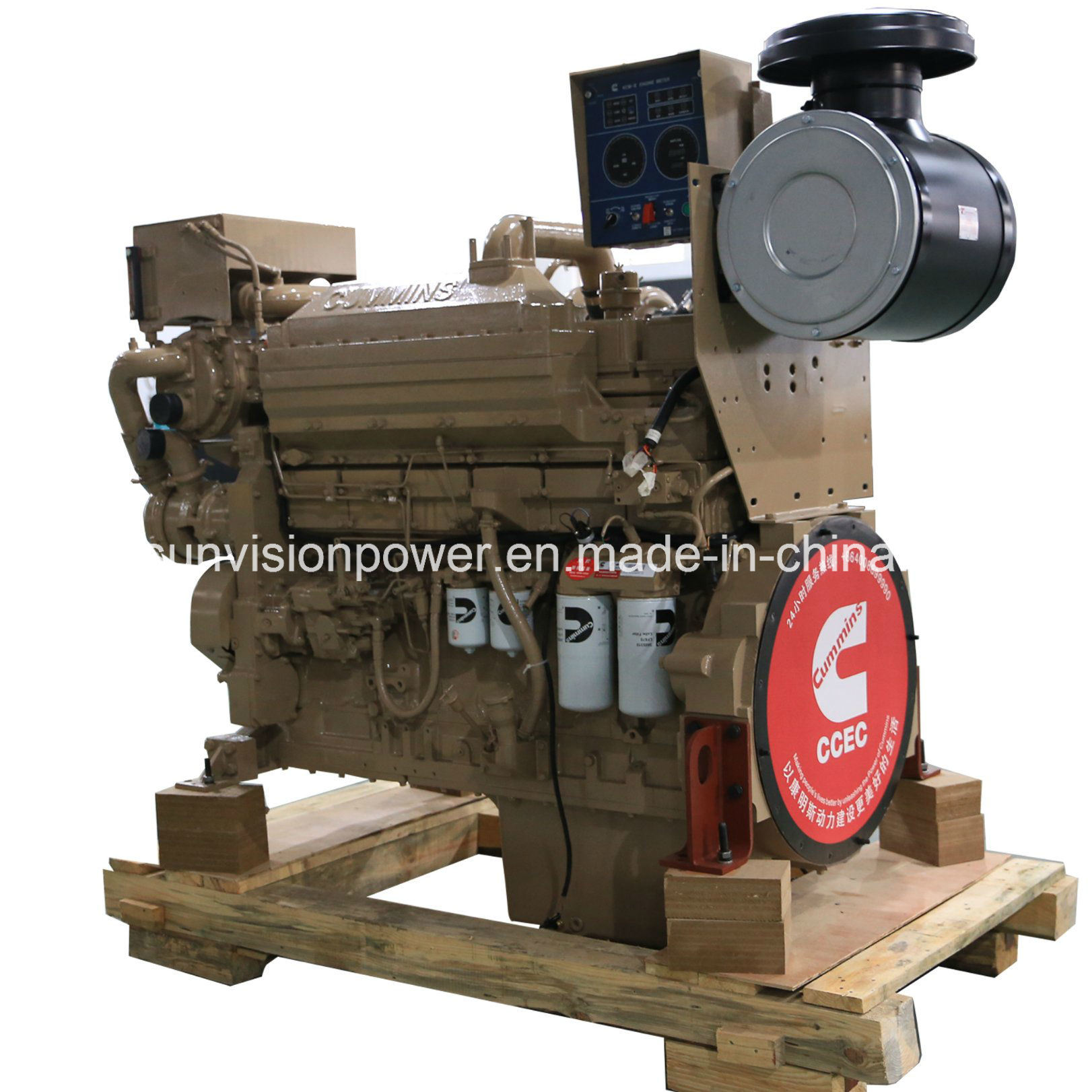 Cummins Marine Engine 600HP Propulsion Marine Engine Kta19-M3 with CCS