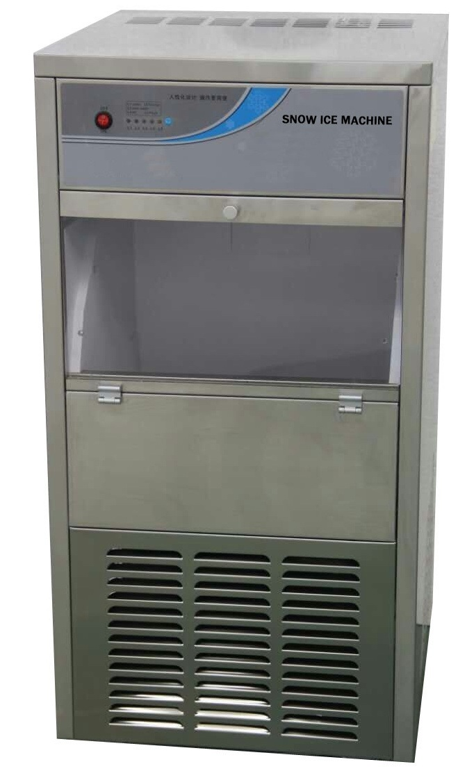 80kgs Snow Ice Machine for Supermarket Fresh