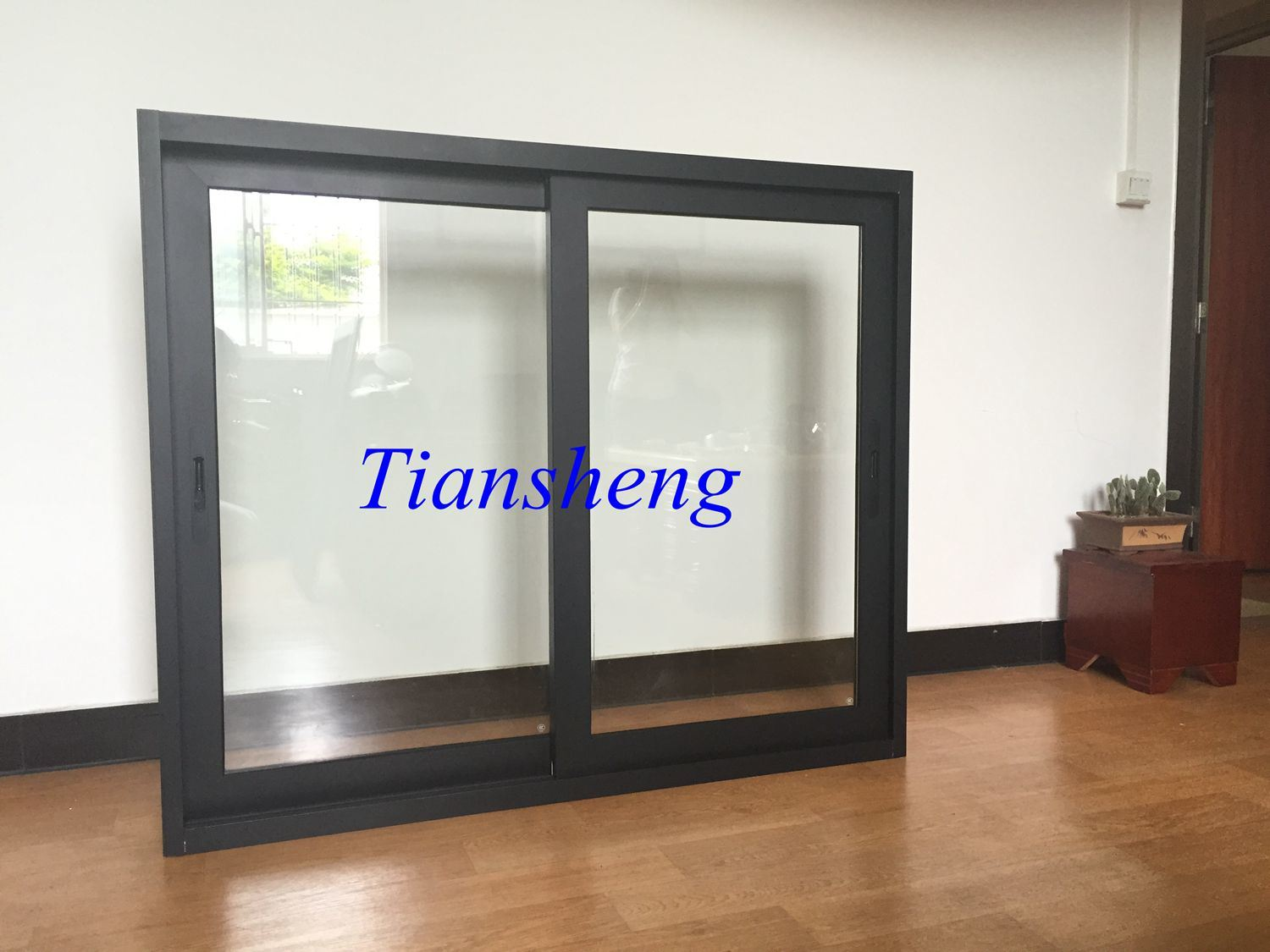 Australia Standard High Level 100f Series Aluminium Sliding Window Glass Window for Commercial and Residential Building
