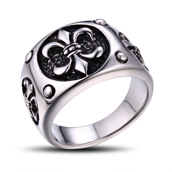 2015 Fashion Custom Stainless Steel Jewelry Ring