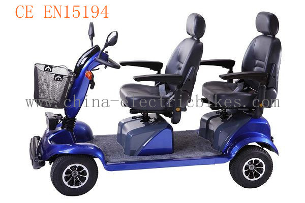 Mobility Scooters For Sale >> China Double Seat Electric Mobility Scooter for Adults (LN-003) Photos & Pictures - Made-in ...