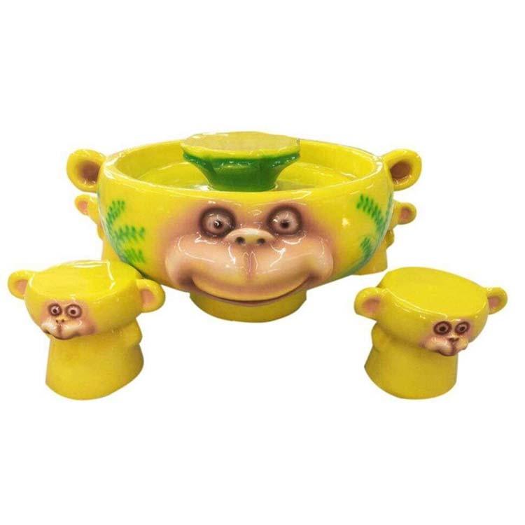 Funny Amusement Park Equipment Monkey Sand Table for Children Entertainment (S06-Yellow)