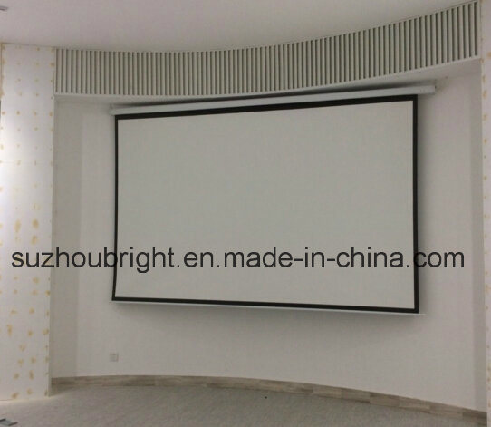Manual Screen 100 Inch 120 Inch High Definition Projector Projector Screen