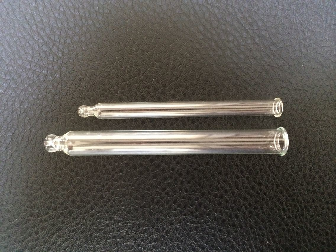 Mini Clear Tubular Glass Pipettes with Graduation Printed