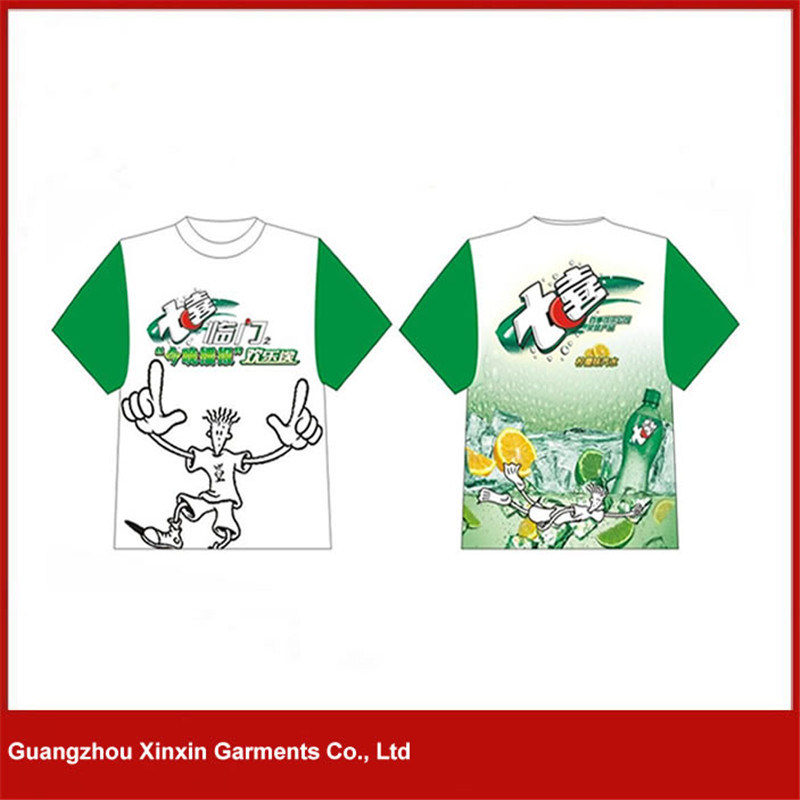 Wholesale 100% Poleyster All Over Sublimation Printing T-Shirt Factory (P142)