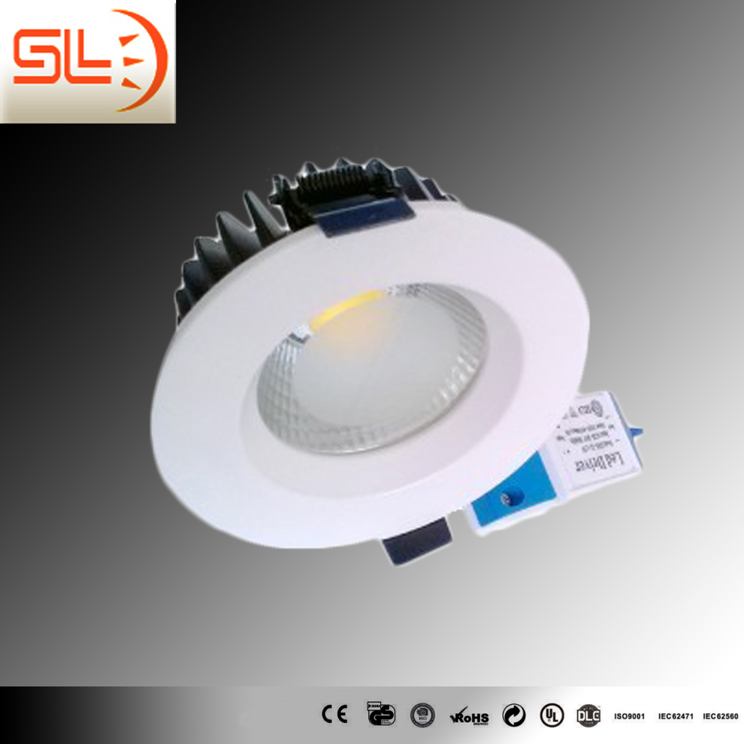12W Recessed Slim LED Downlight with CE RoHS Certfication