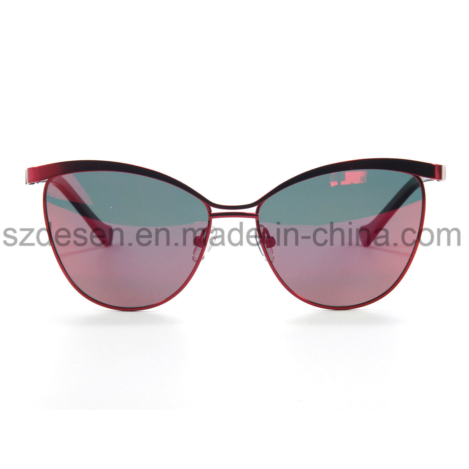 Fashionable Mirror Lens Eye Cat Polarized Sunglasses