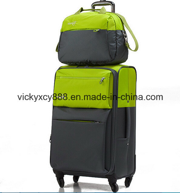 Waterproof Wheeled Trolley Luggage Business Travel Laptop Case Bag (CY9958)