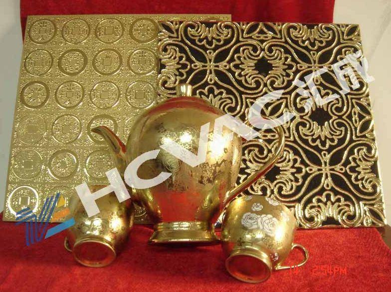 Ceramic Tiles/Tableware Gold PVD Vacuum Coating Machine