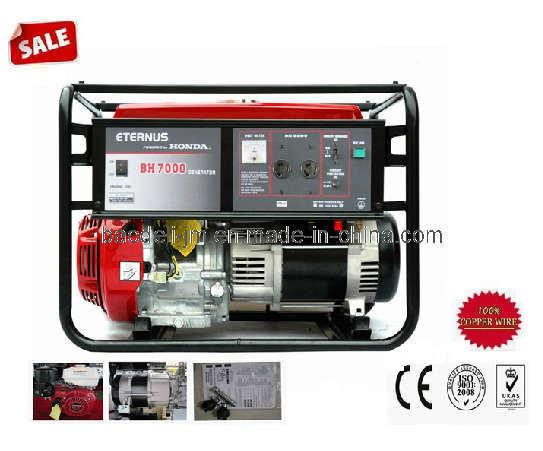 5kw/5kVA Honda Engine Three Phase Gasoline Generator (BHT7000)