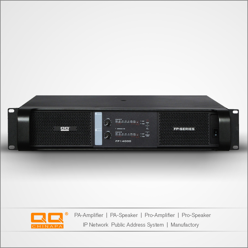 Professional Power Amplifier 2350*2 CH Amplifier SMPS for Stage