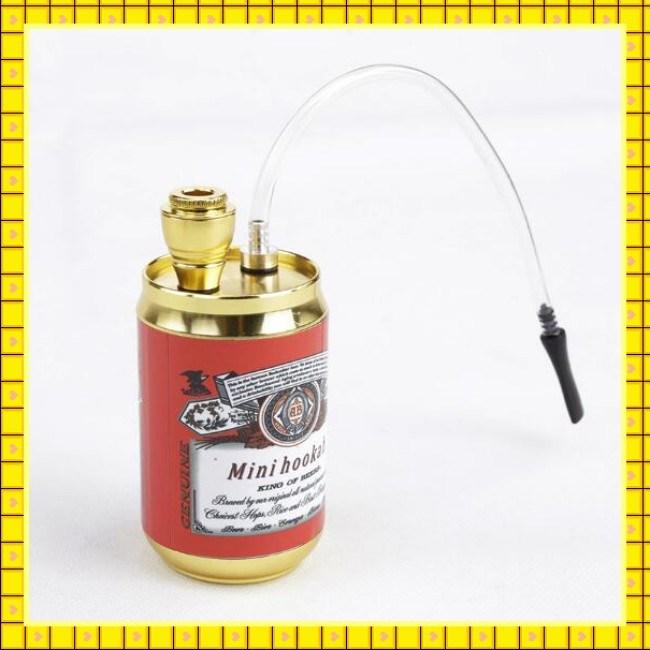 Wholesale Multi Colors Mini Metal Water Smoking Pipe