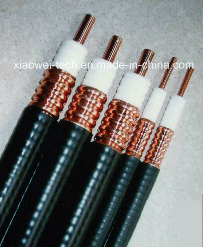 "1/2"" 7/8"" Superflexible Communication RF Coaxial Feeder Cable"
