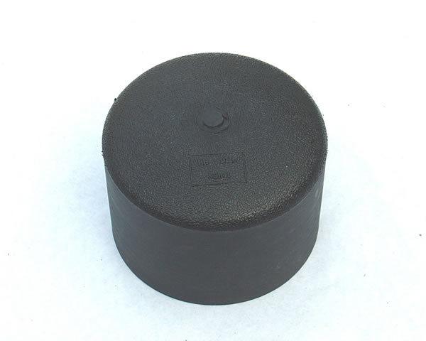 Aluminum pipe cap threaded