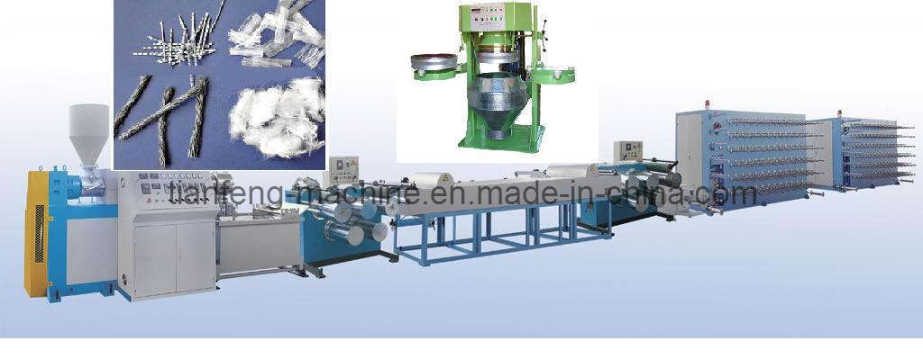 Polypropylene Fibre for Concrete Making Machines