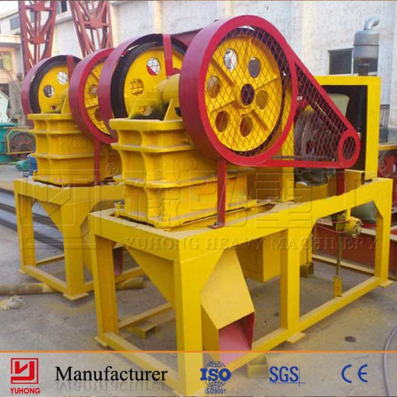 Yuhong Small Mobile Jaw Crusher/Diesel Engine Mobile Crusher/Small Crusher with CE Approved