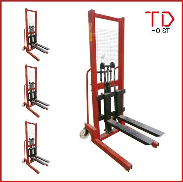 Hydraulic Pallet Lifters : China ton cty car lift hydraulic pallet stacker mini