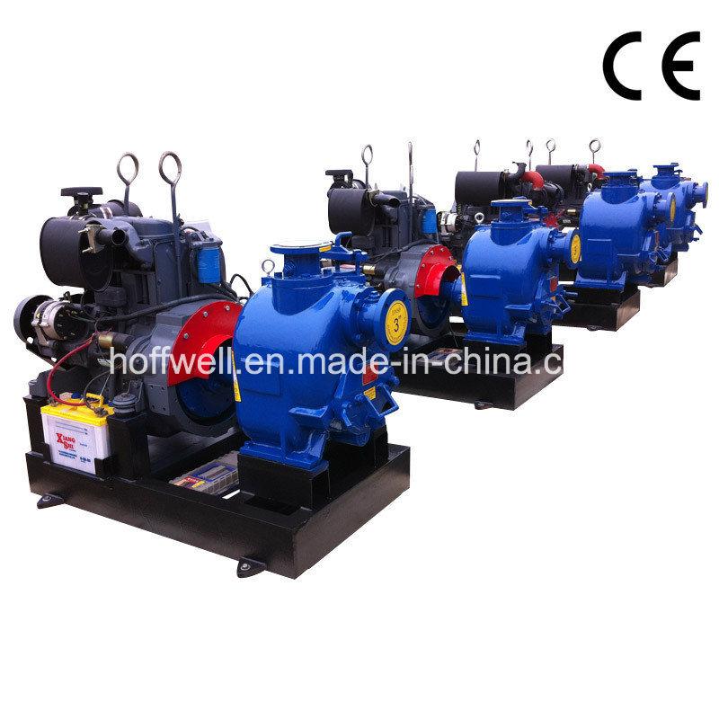 T Series Self-Priming Centrifugal Trash Water Pump