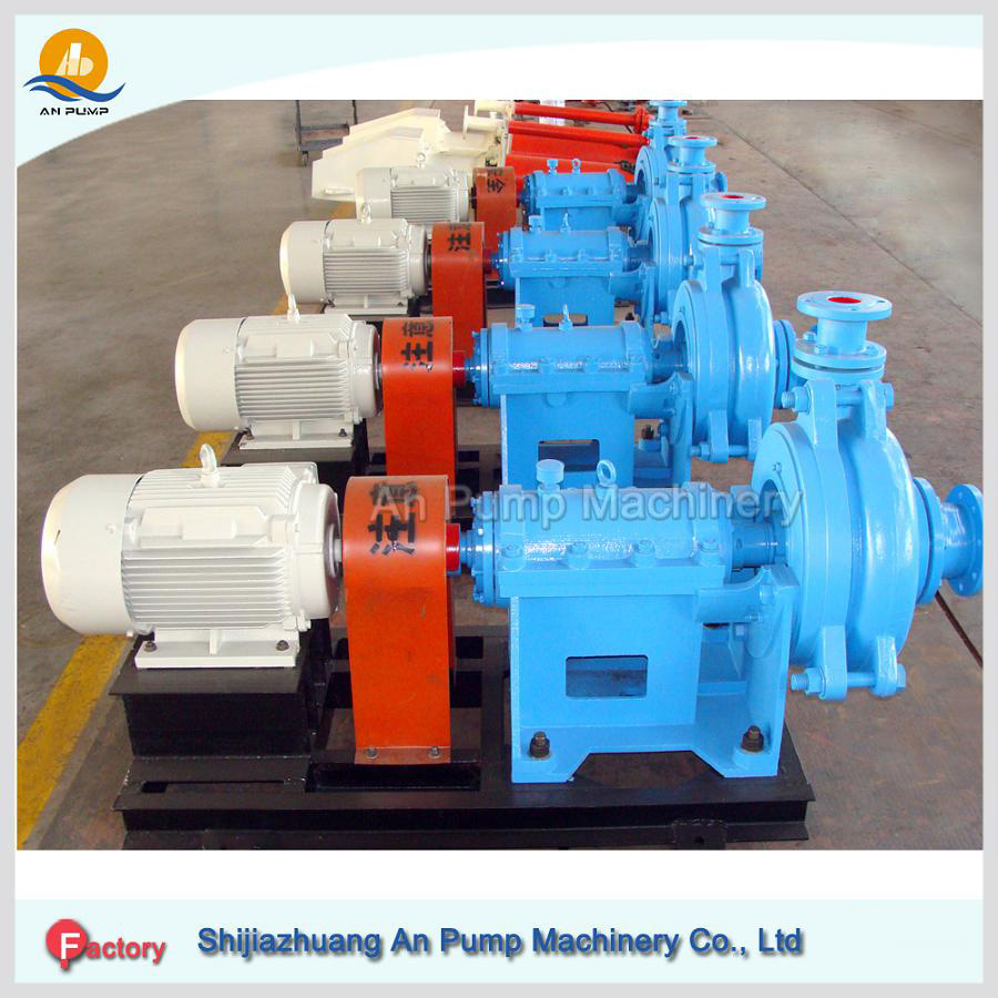 Horizontal Centrifugal Heavy Duty Mining Slurry Pump