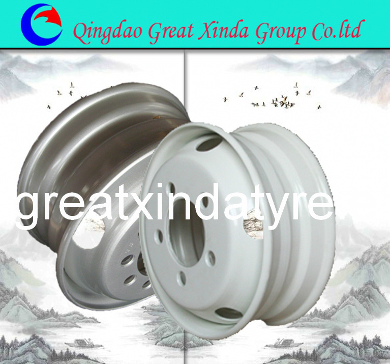 Tubeless Truck Steel Wheel (17.5X5.25, 17.5X6.00)