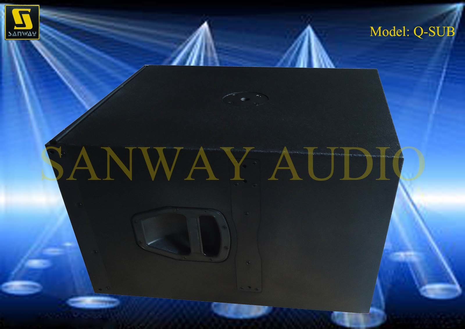 Subwoofer 15′′ PRO Audio Q-Sub