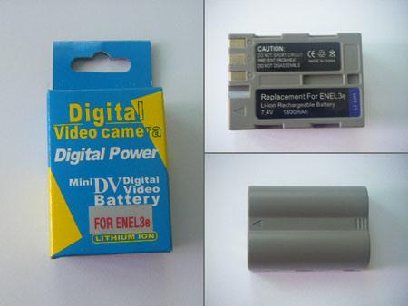 Camcorder Batteries for Replacement Nikon En-EL3e Li-ion Battery (LP-E5)