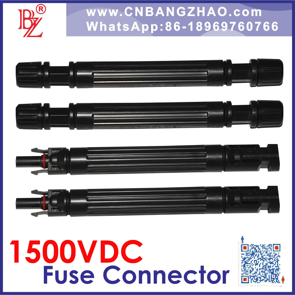 Factory Customize 1500VDC PV Cable with 1500VDC Fuse Connector Harness
