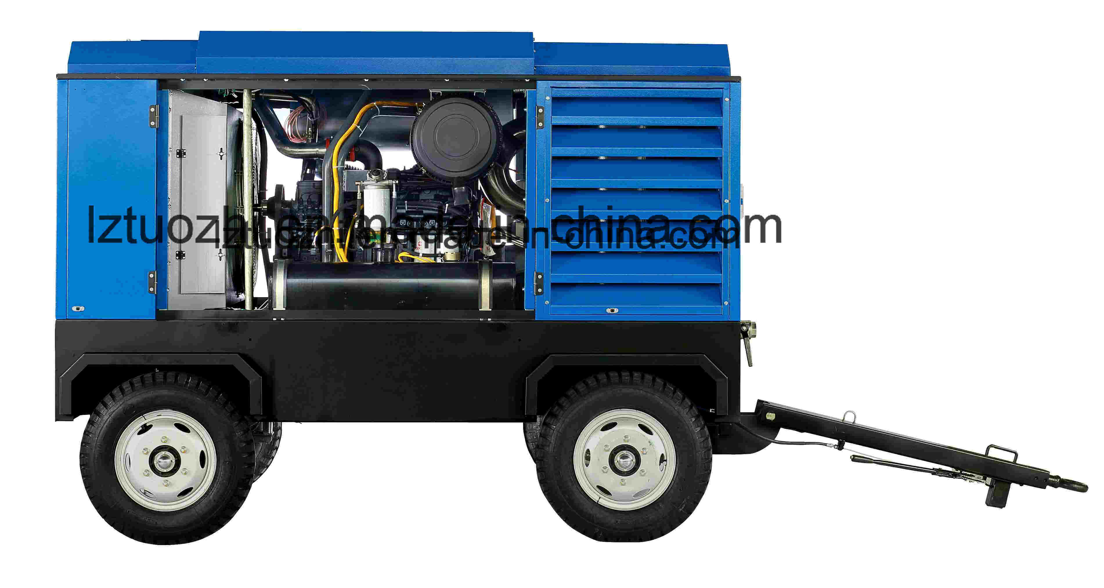 Atlas Copco Liutech 1250cfm 25bar High Pressure Diesel Air Compressor