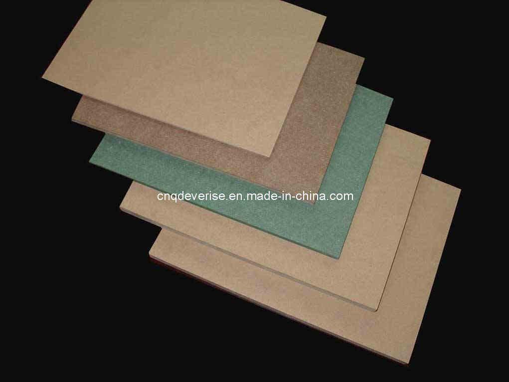 China raw mdf plain memamine wood board laminated