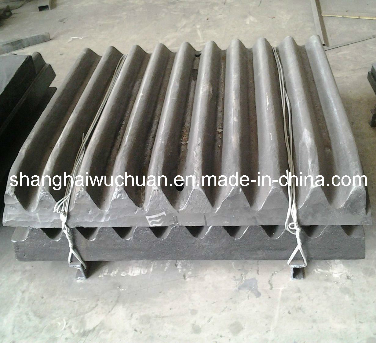Crusher Manganese Parts Cheek Plate for Jaw Crusher