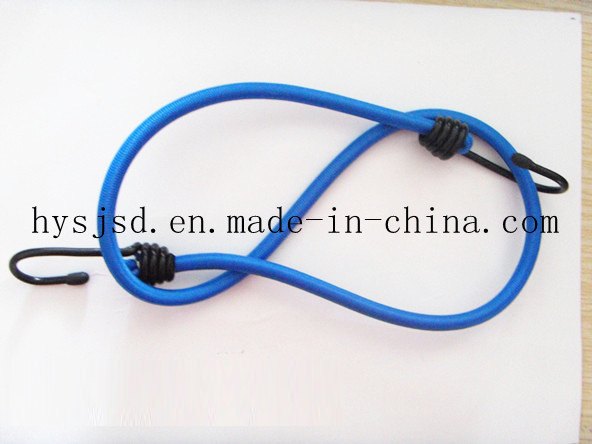 Top Quality and Reasonable Price Elastic Luggage Rope with Metal End and Plastic End