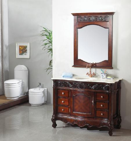 luxury wooden bathroom furniture