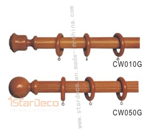 rod cw010g cw050g china wooden curtain finial wooden curtain rod