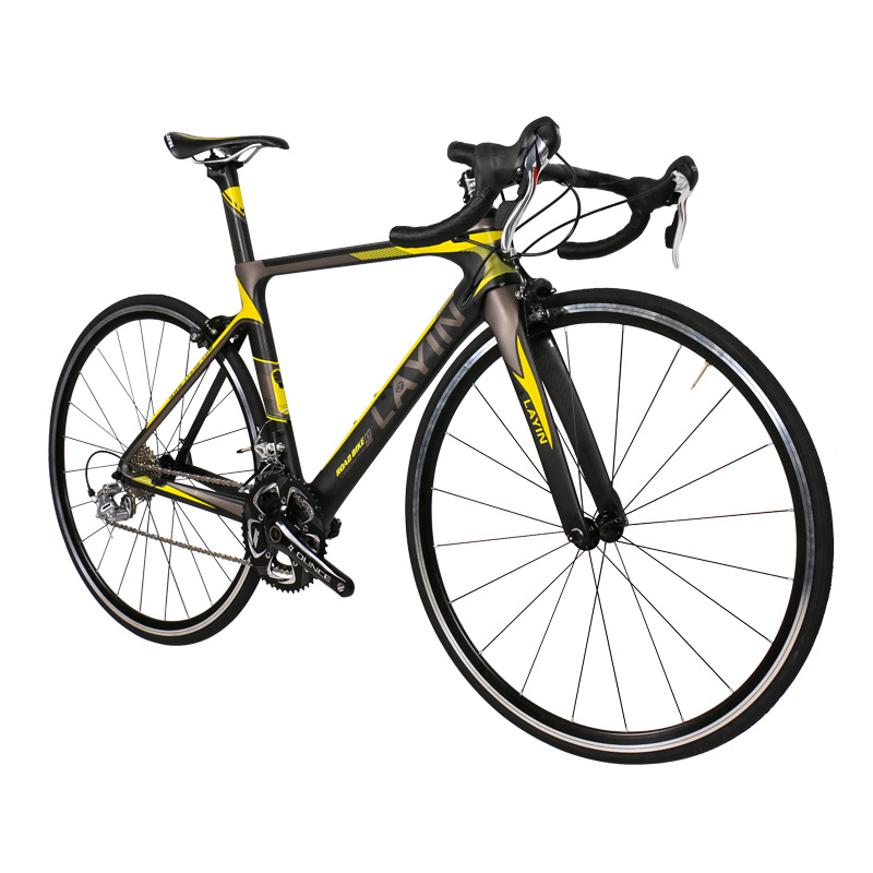 Bicycle Factory 18-Speed Shimano Sora 3500 Carbon Fiber Road Bike