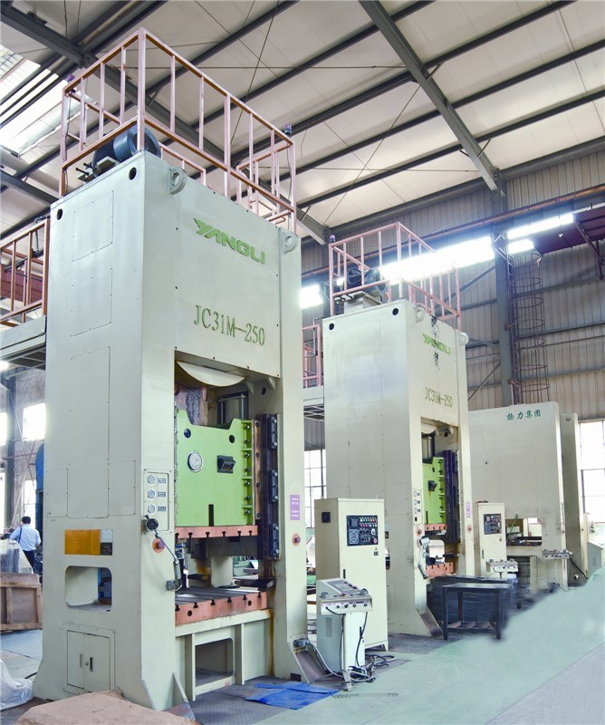 J31m Monoblock Type Single Point Straight Side Press Machine