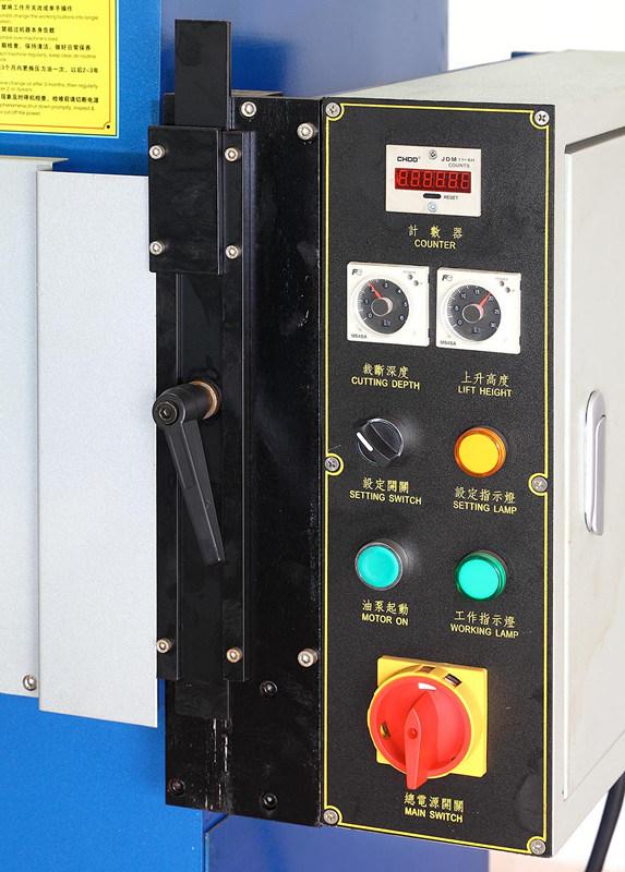 Four Column Hydraulic Cutting Press for Shoes, Plastic, Foam, Cardboard