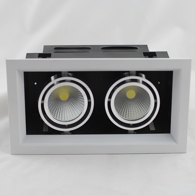 One Head/Two Heads/Three Heads COB LED Grille Light