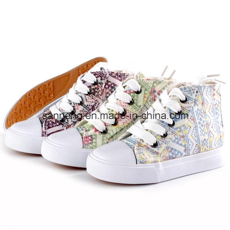 Hot Sale Children Summer Canvas Shoes (SNC-24242)