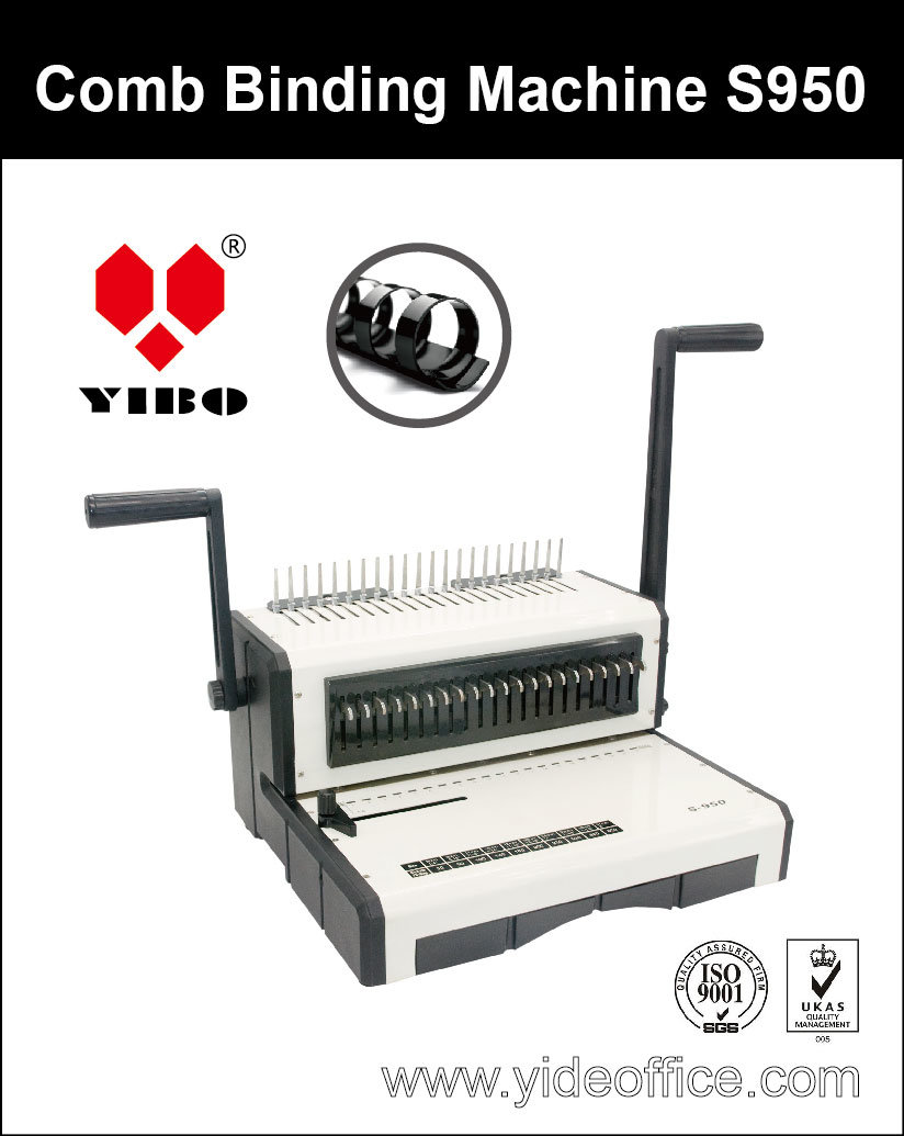 A4 Size Base Heavy Duty Comb Binding Machine S950